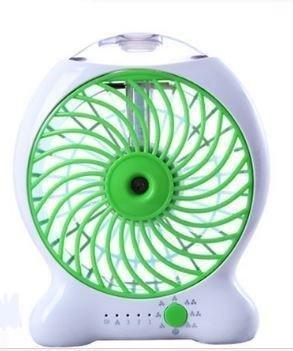Mini Rechargeable Water Mist Cooling Fan