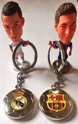 Metal Key chain - Football Club Barcelona, Real Madrid