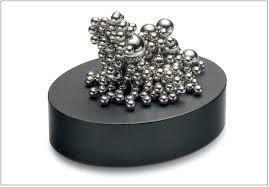 Magnetic Sculpture Desk Ball Toy Decompression