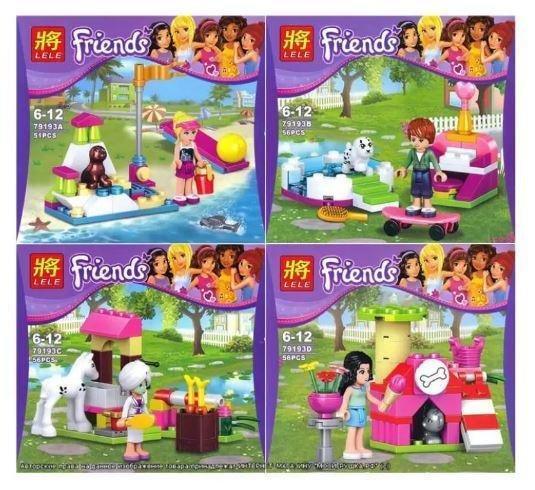 LELE Friends Lego