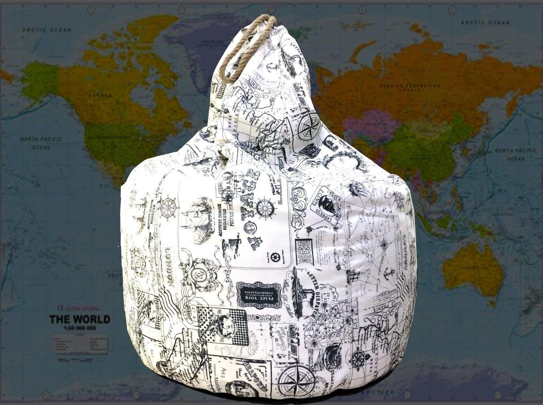 Comfort  Bean Bag-Stylish, Large, Lazy, Lounge Chair 4.8 Kg