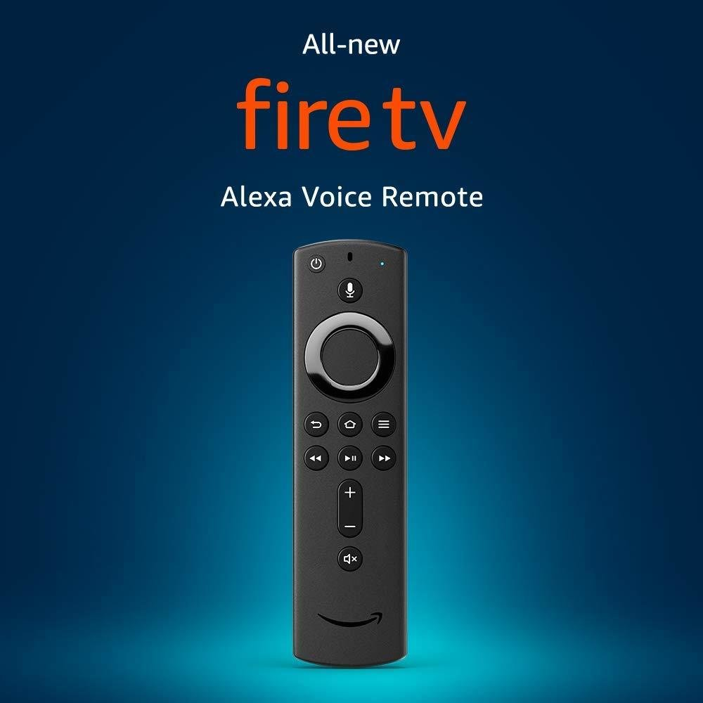 Alexa Voice Remote with power and volume controls