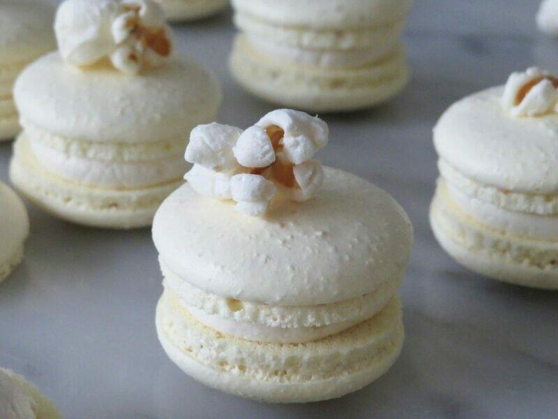 Macarons notenvrij ( 6 stuks )