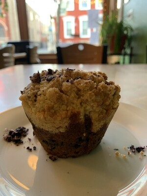 Blueberry Muffin (half dozen)