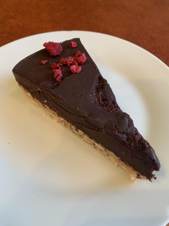 Mindful Baking Chocolate Raspberry Tart (gf)