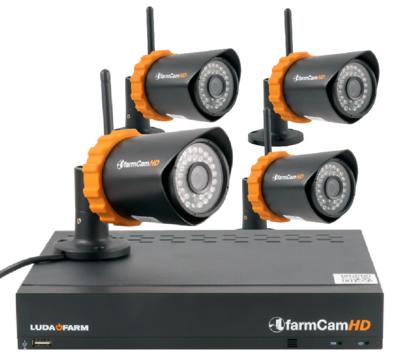 Set Überwachungskamera HD+ mit 4 Kameras - farmCam HD+