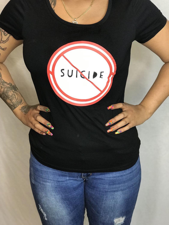 NO SUICIDE T-SHIRT