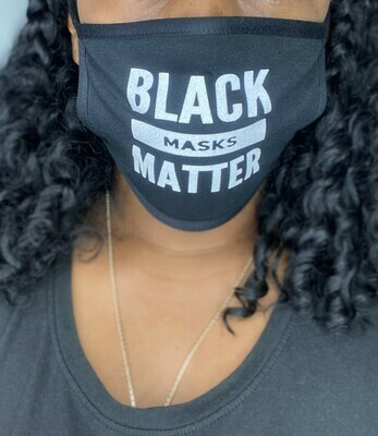 BLACK MASKS MATTER (Reusable Face Mask)