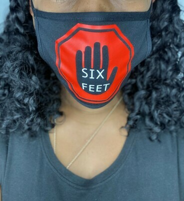 SIX FEET MASK (Reusable Face Mask)