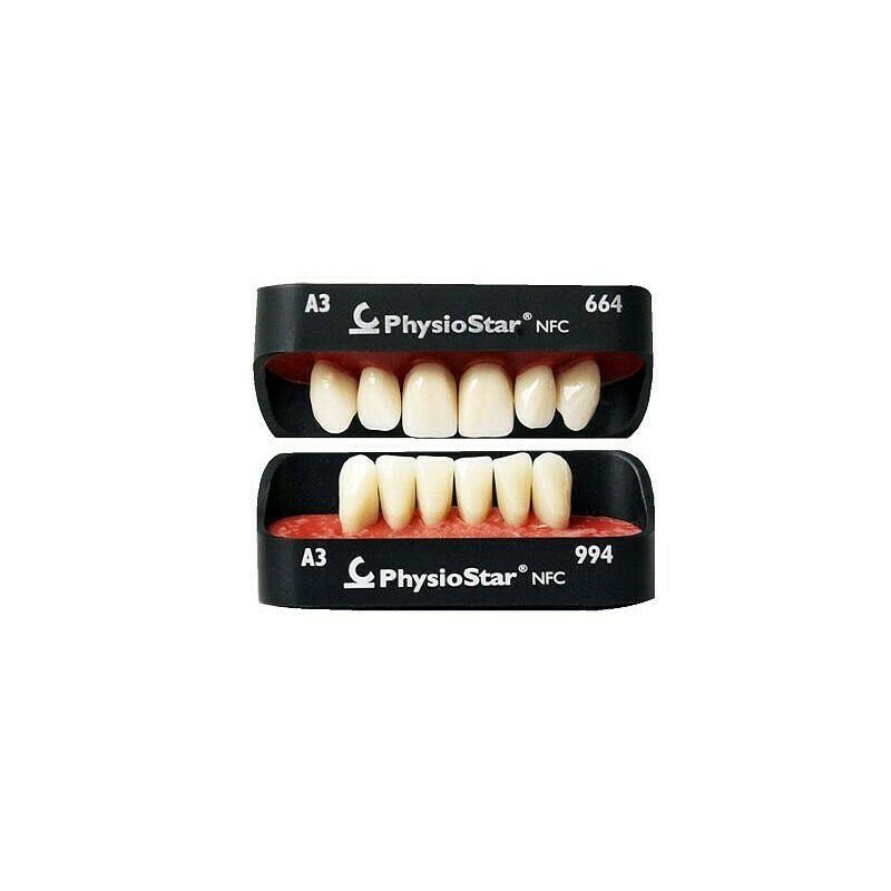 GARNITURA DINTI COMPOZIT MODEL PHYSIOSTAR II NFC- FRONT INFERIOR CANDULOR
