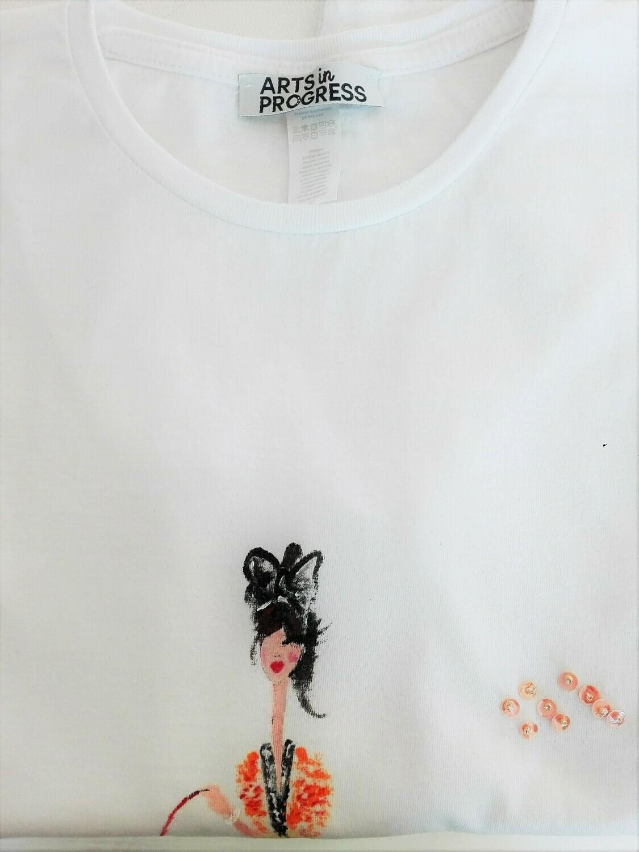 T-shirt animalista snob