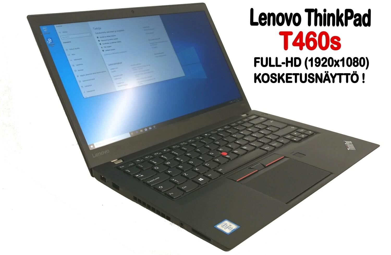 Lenovo T460s Ultrabook Core i5-6300U / Full-HD  IPS- kosketusnäytöllä ja huippunopealla NVMe M2-SSD:llä! / A-grade