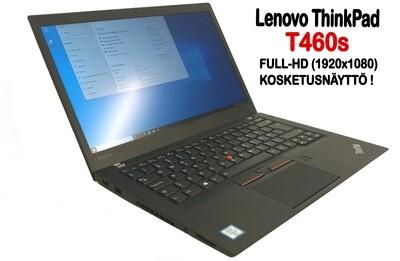 Lenovo T460s Ultrabook Core i5-6300U / Full-HD  IPS- kosketusnäytöllä ja 512gb SSD:llä! (A- / B)