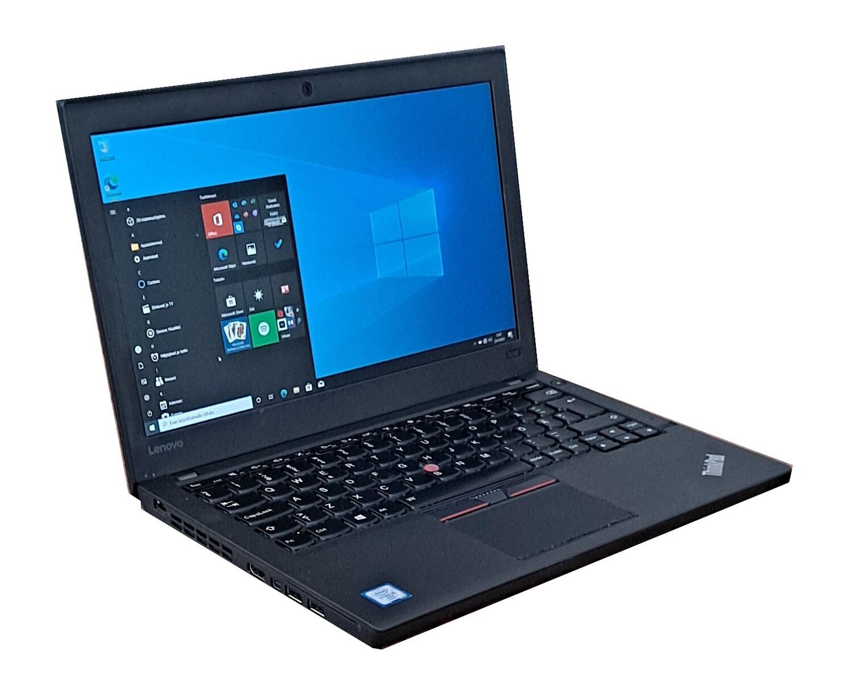 """Lenovo X260. Ohut ja tehokas, 12,5"""" Core i5-kannettava (6:th Gen) 256gb:n SSD-levyllä"""
