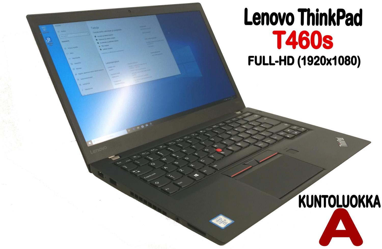 Lenovo T460s Ultrabook Core i5-6300U / Full-HD  IPS-näytöllä ja huippunopealla NVMe M2. SSD:llä! (A)