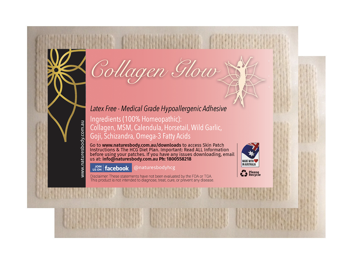 Collagen GLOW Skin Patches
