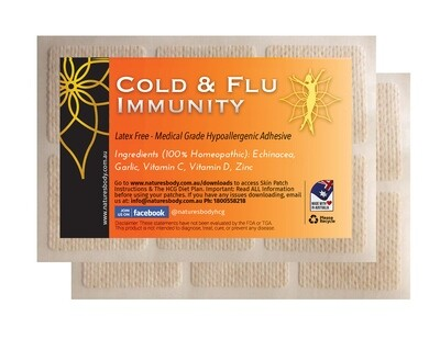 COLD & FLU Immunity Skin Patches