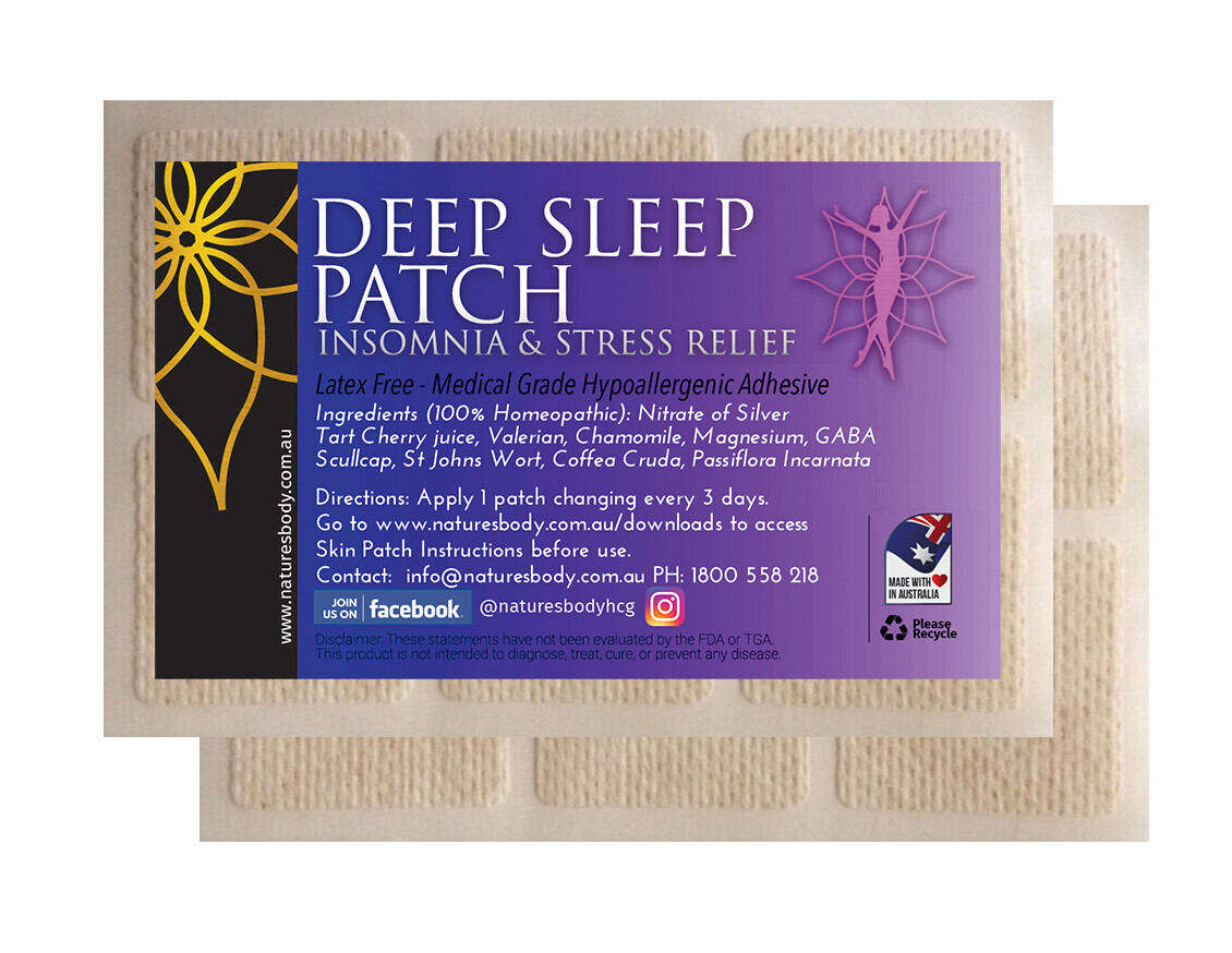NEW Deep Sleep Patch - Insomnia & Stress Relief
