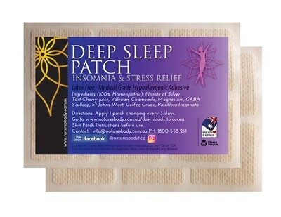 Deep Sleep Patch - Insomnia & Stress Relief (NEW Improved Gel Patches!)