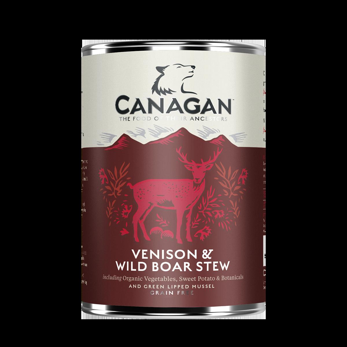 Canagan Venison & Wild Boar Stew 400g