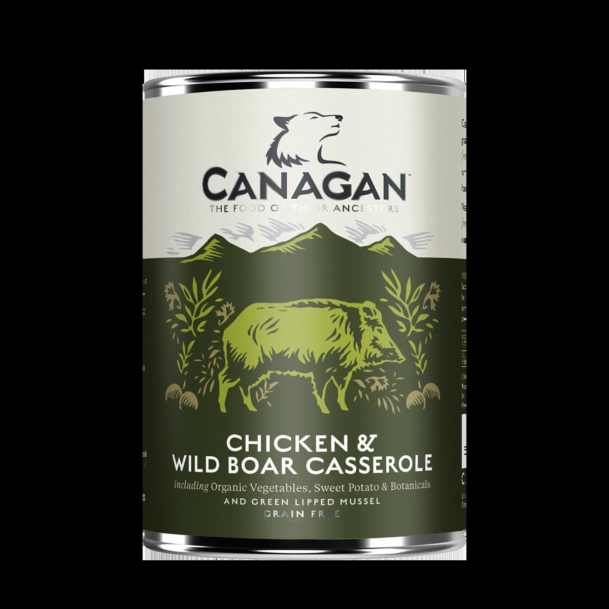 Canagan Chicken & Wild Boar Casserole 400g