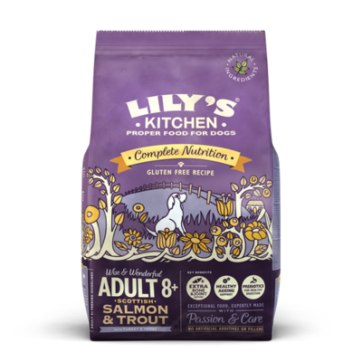 Lily's Kitchen Salmon & Trout Dry Dog Food for Senior Dogs