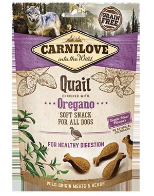 Carnilove Quail with Oregano Dog Treats 200g