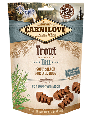Carnilove Trout with Dill Dog Treats 200g