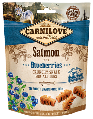 Carnilove Salmon with Blueberries Dog Treats 200g