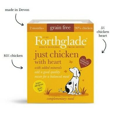 Forthglade Just Chicken & Heart 395g