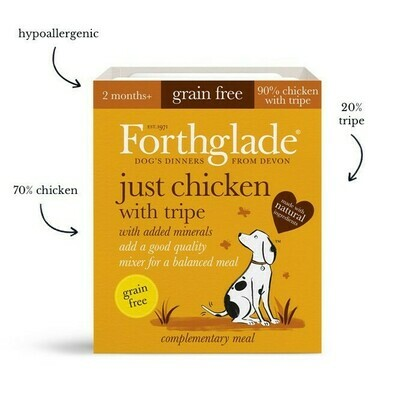 Forthglade Chicken with Tripe 395g