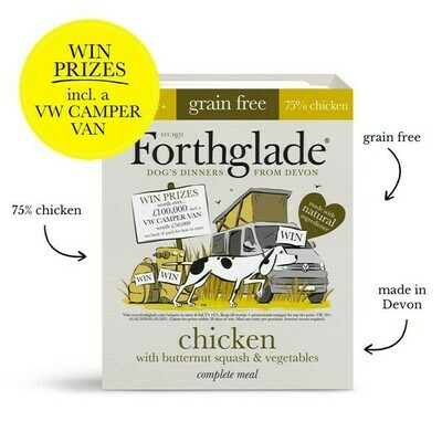 Forthglade Chicken with butternut Squash & Vegetables 395g