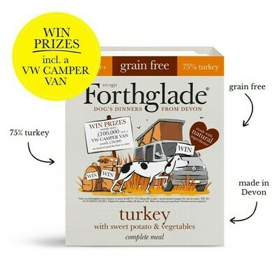 Forthglade Turkey with Sweet Potato& Vegetables 395g