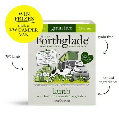 Forthglade Lamb with Butternut Squash & Vegetables 395g