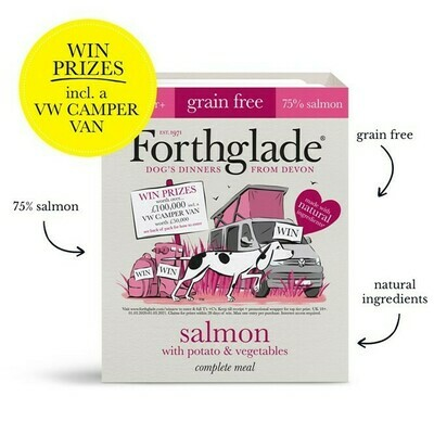 Forthglade Salmon with Potato & Vegetables 395g