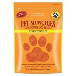 Pet Munchies Chicken Chips 100g