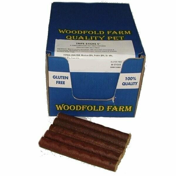"""Woodfold Farm 5"""" Tripe Stick"""