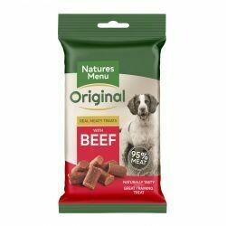 Natures Menu Original Meaty Treats with Beef 60g