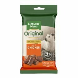 Natures Menu Original Meaty Treats with Chicken 60g