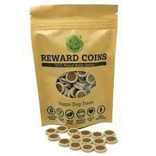 Peanut Butter Flavoured Reward Coins 100g