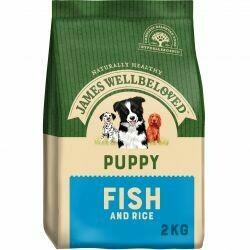James Wellbeloved Puppy Fish 2KG