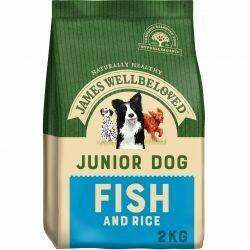 James Wellbeloved Junior Fish 2KG
