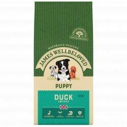 James Wellbeloved Puppy Duck 2KG