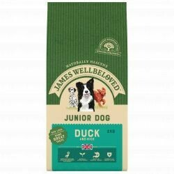 James Wellbeloved Junior Duck 2KG