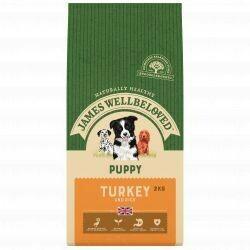James Wellbeloved Puppy Turkey 2KG
