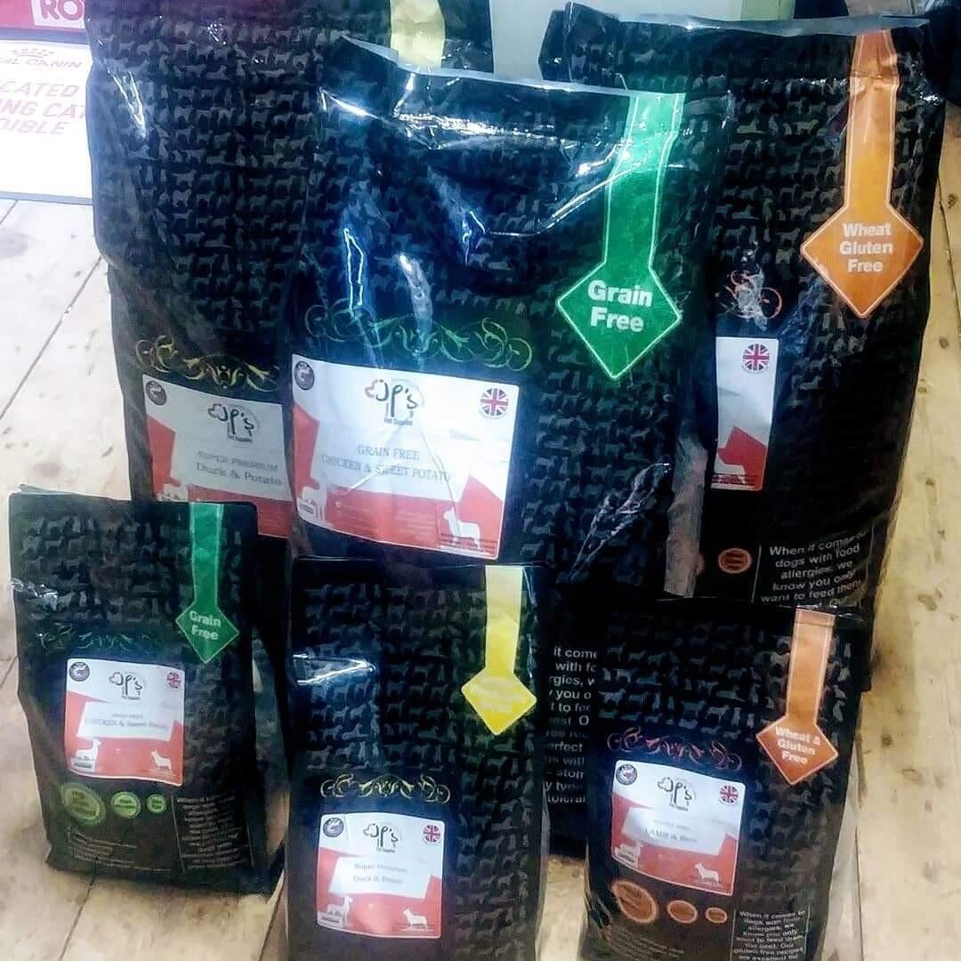 Jp's Pet Supplies Gluten Free Lamb & Rice 2.5KG