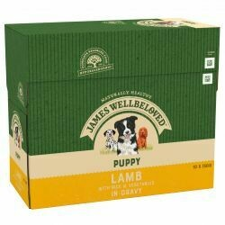 James Wellbeloved Puppy Lamb Pouch 150g