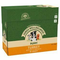 James Wellbeloved Puppy Turkey Pouch 150g