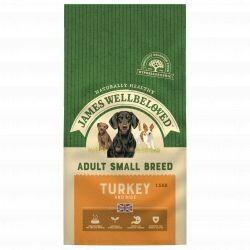 James Wellbeloved  Dog Adult Small Breed Turkey & Rice 7.5KG