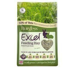 Burgess Feeding Hay Dried Grass 1KG